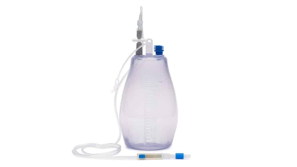 1000ml Sterile PreVac Drainage Bottles
